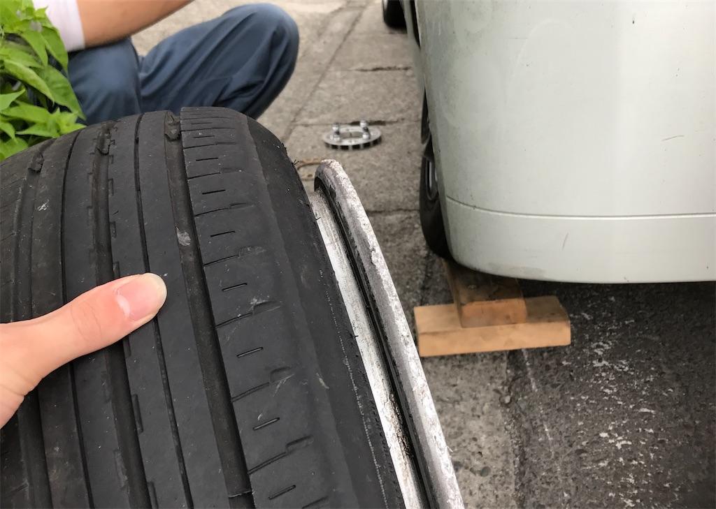 車高調を入れるとタイヤが内減りする2つの原因